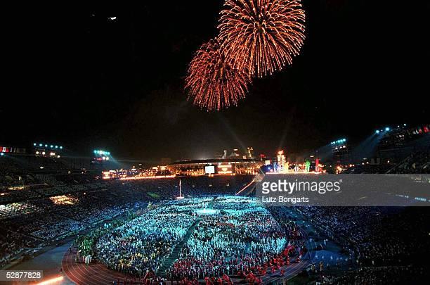 Ueber dem Olympiastadion