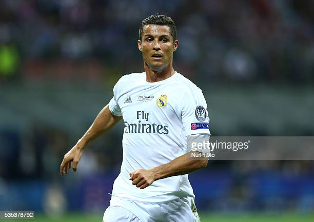 Real Madrid vs Atletico Madrid Cristiano Ronaldo at San Siro Stadium in Milan Italy on May 28 2016