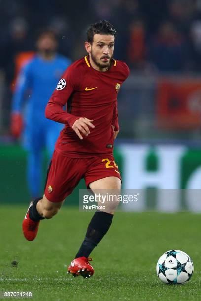 Group C Roma v Qarabag Alessandro Florenzi of Roma at Olimpico Stadium in Rome Italy on December 5 2017
