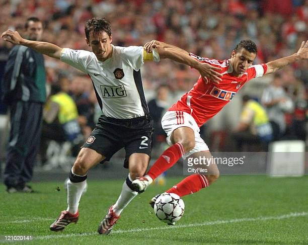 LISBON PORTUGAL Uefa Champions League Group F second round One year after beating Manchester United in Estadio da Luz Benfica faced again the English...