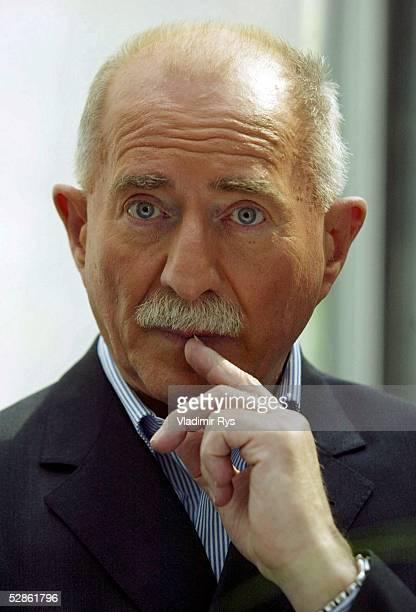 Uefa Champions League Sat1 Praesentatoren Berlin Kommentator Werner HANSCH