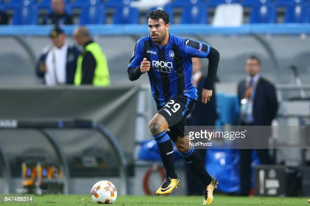 Group E Atalanta Bc v Everton Fc Andrea Petagna of Atalanta at Mapei Stadium in Reggio Emilia Italy on September 14 2017 Photo Matteo Ciambelli /...