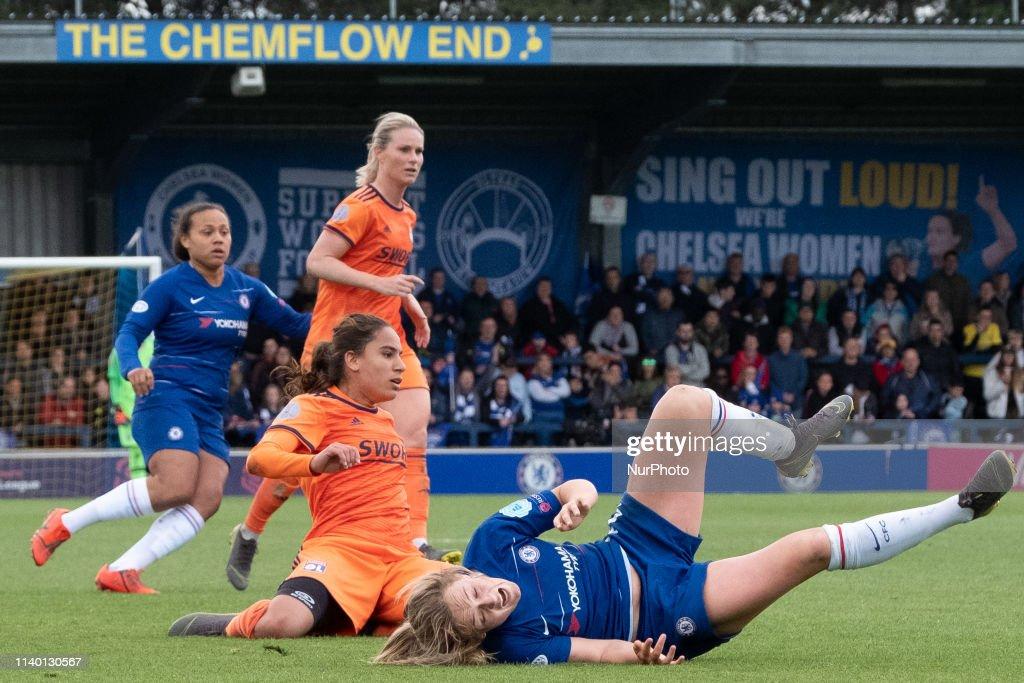 Chelsea Women v Olympique Lyonnais Women - UEFA Women's Champions League: Semi Final Second Leg : News Photo
