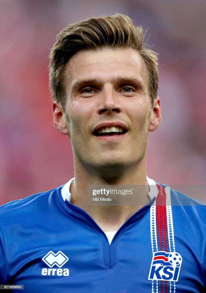 Uefa - World Cup Fifa Russia 2018 Qualifier / 'nIceland National Team - Preview Set - 'nTheodor Elmar Bjarnason