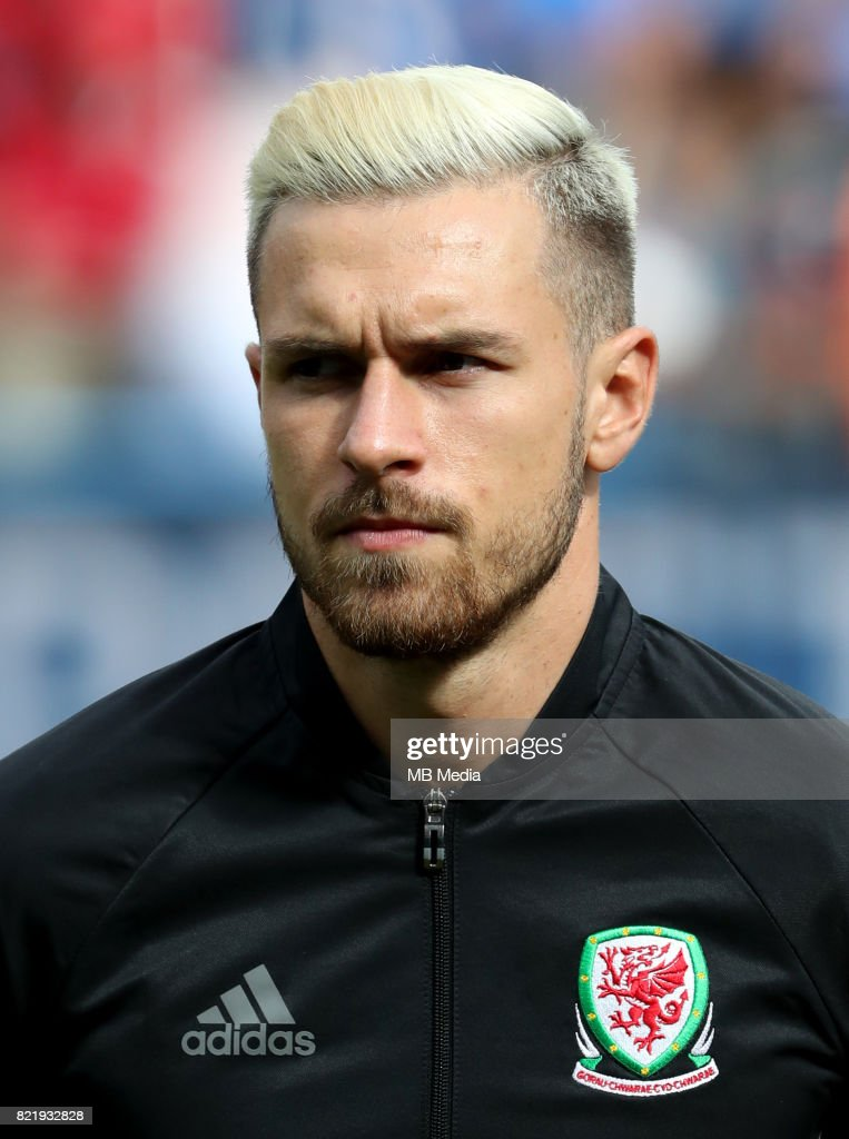 Uefa - World Cup Fifa Russia 2018 Qualifier / 'nWales National Team - Preview Set - 'nAaron James Ramsey