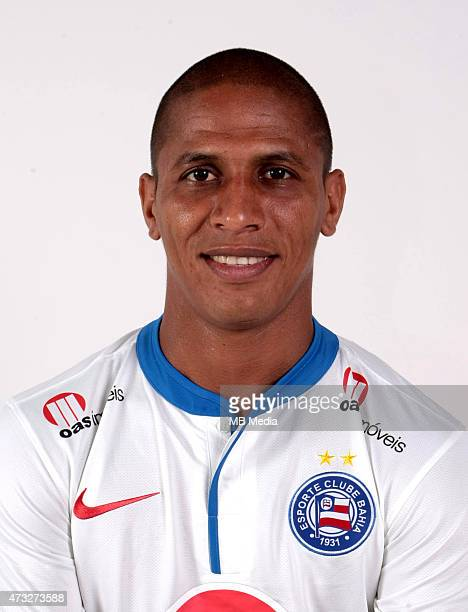 Uelliton of Esporte Clube Bahia poses during a portrait session August 14 2014 in SalvadorBrazil