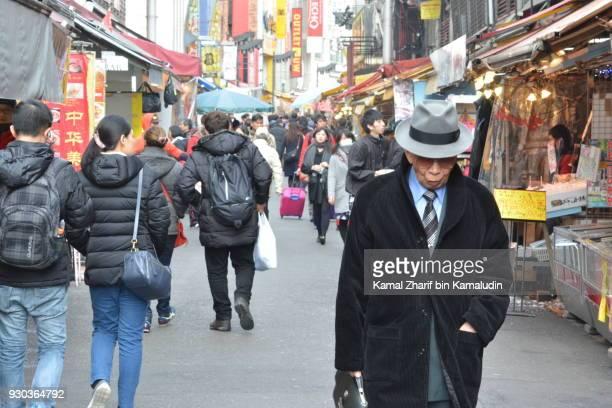 Ueno shopping street