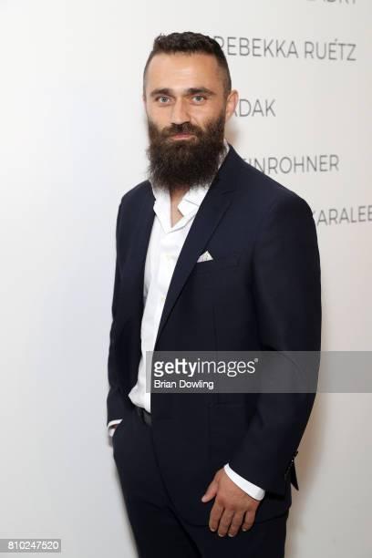 Uensal Arik attends the Odeur show during the MercedesBenz Fashion Week Berlin Spring/Summer 2018 at Kaufhaus Jandorf on July 7 2017 in Berlin Germany