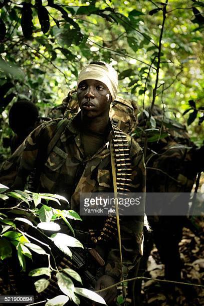 Ugandan soldiers hunt LRA rebels