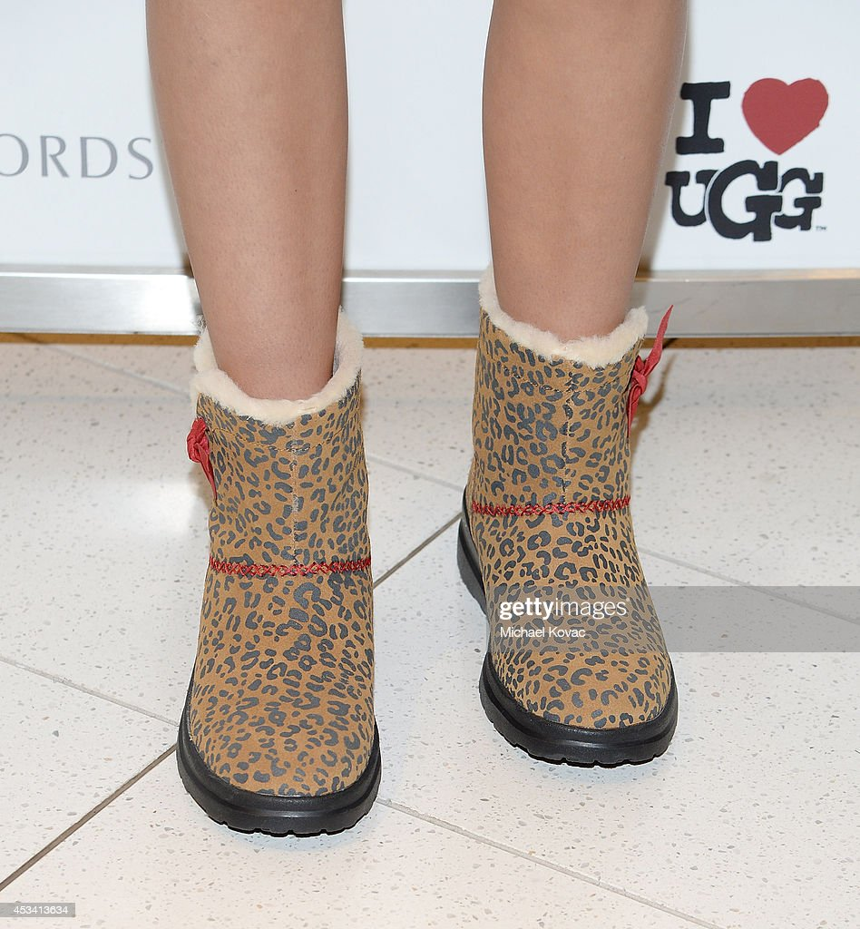 Amber Montana Celebrates The Launch Of I Heart UGG At Nordstrom - The Grove Los Angeles : News Photo