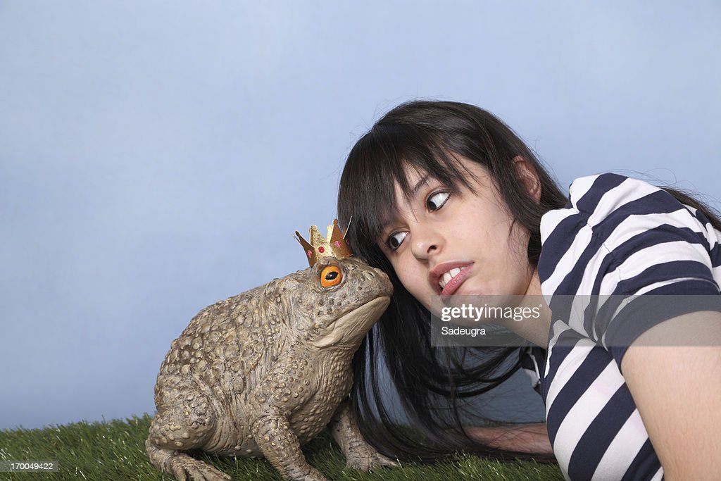 Ugh!  A kiss? : Stock Photo