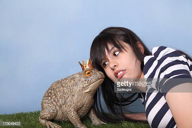 ugh!  a kiss? - ugly girl stock photos and pictures