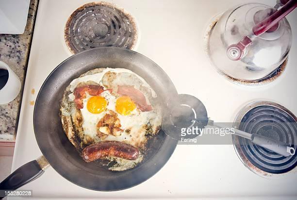 Ugly, greasy breakfast