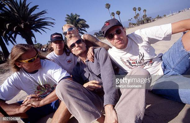 Ugly Kid Joe group portrait California United States 1996