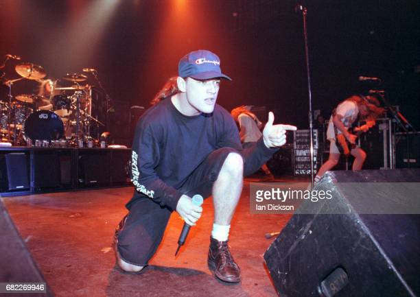 Ugly Kid Joe performing on stage at Town Country Club Kentish Town London 09 July 1992