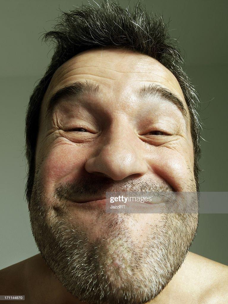 deformed face man - HD768×1024