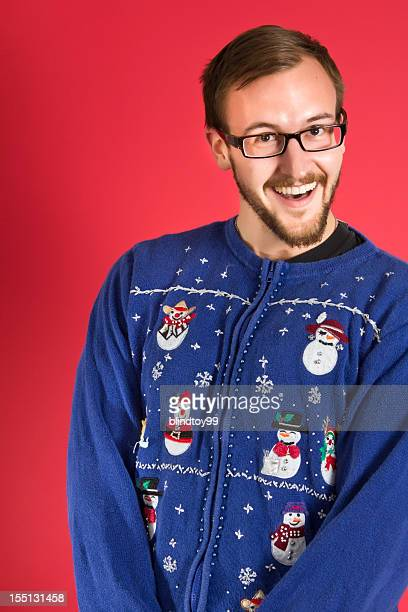 Ugly sweater geek