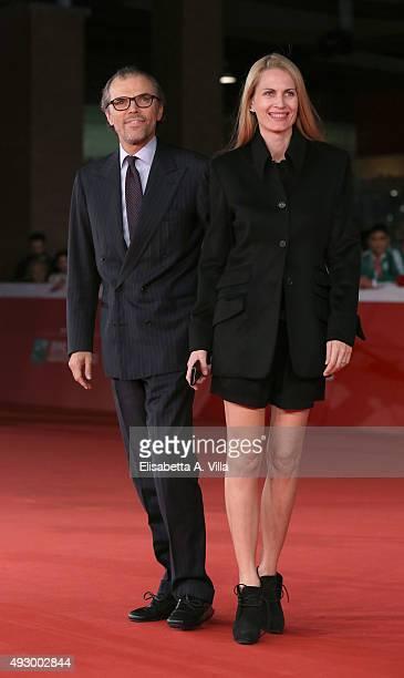 Ugo Brachetti Peretti and Isabella Borromeo walk the red carpet for 'Truth' during the 10th Rome Film Fest at Auditorium Parco Della Musica on...