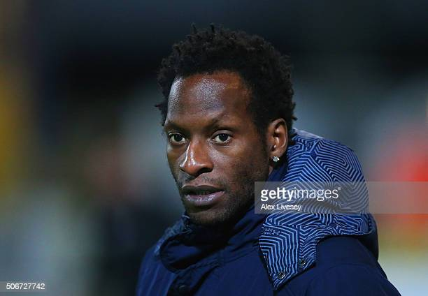 Ugo Ehiogu manager of Tottenham Hotspur U21 looks on prior to the Barclays U21 Premier League match between Liverpool U21 and Tottenham Hotspur U21...