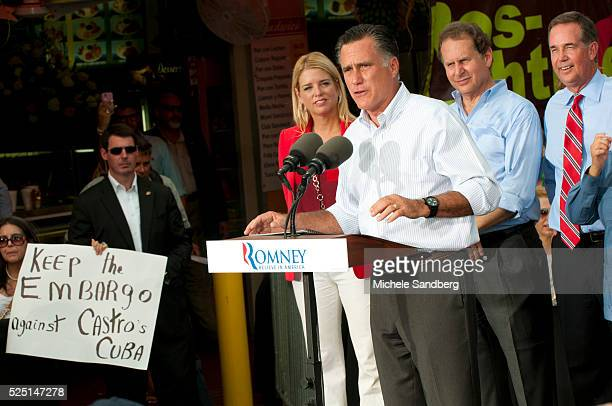 ugust 13 2012 PAM BONDI MITT ROMNEY LINCOLN DIAZBALART JEFF ATWATER Mitt Romney Campaigns in South Florida On His Bus Tour For A Stronger Middle...