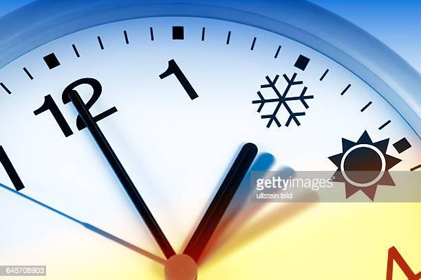 Uhr Umstellung von Sommerzeit auf Winterzeit