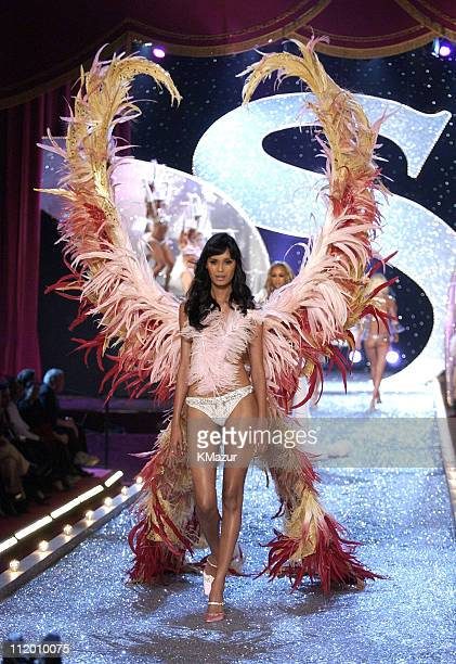 Ujjwala during 9th Annual Victoria's Secret Fashion Show - Runway at The New York State Armory in New York City, New York, United States.
