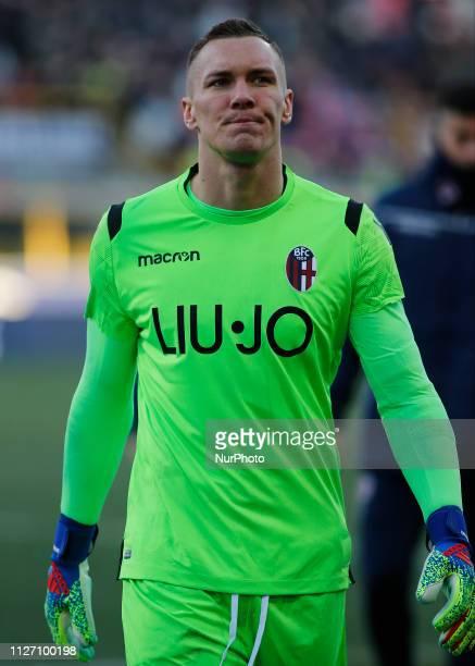 ukasz Skorupski during Serie A 20182019 match between Bologna v Juventus in Bologna on February 24 2019