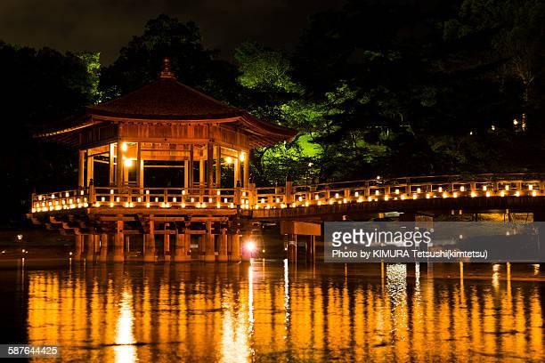 Ukimido at Nara Tokae, Nara Park