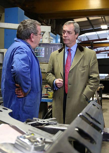 7e18875ae1a0 Photos et images de Nigel Farage Announces UKIP s Economic Policy ...
