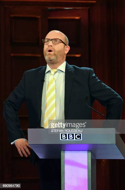 Ukip leader Paul Nuttall takes part in the BBC Election Debate hosted by BBC news presenter Mishal Husain and broadcast live from Senate House in...