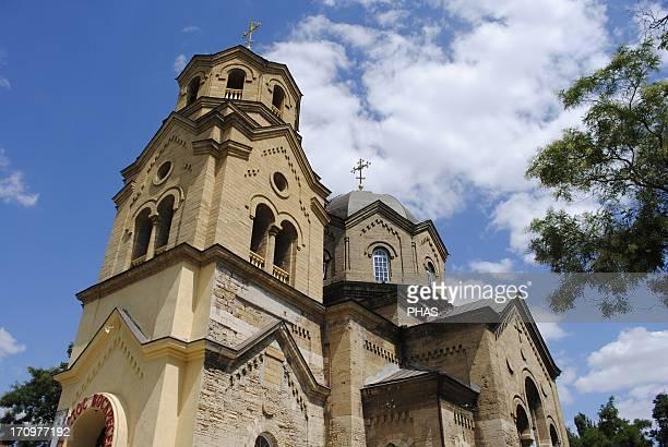 Ukraine Autonomous Republic of Crimea Yevpatoria Church of Saint Elias built by Adam L Genrikh 20th century Facade