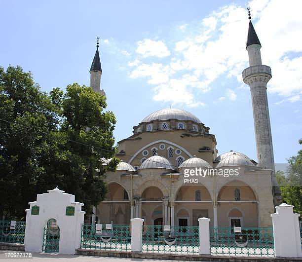 Ukraine Autonomous Republic of Crimea Yevpatoria JumaJami Mosque 15521564 Founded by Khan Devlet I Giray and designed by Mimar Sinan