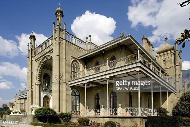 Ukraine Crimea Alupka surroundings of Yalta Vorontsov's Palace