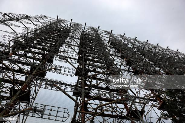 Ukraine In the Restricted and Uninhabitable 30 Kilometer Zone Around the Chernobyl Power Plant and the Pripyat Labor Camp the Duga Radar Station