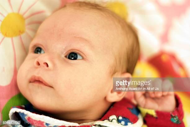 Ukraine Kiev portrait of baby