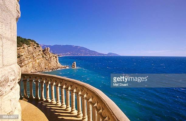 Ukraine, Yalta, view of seascape