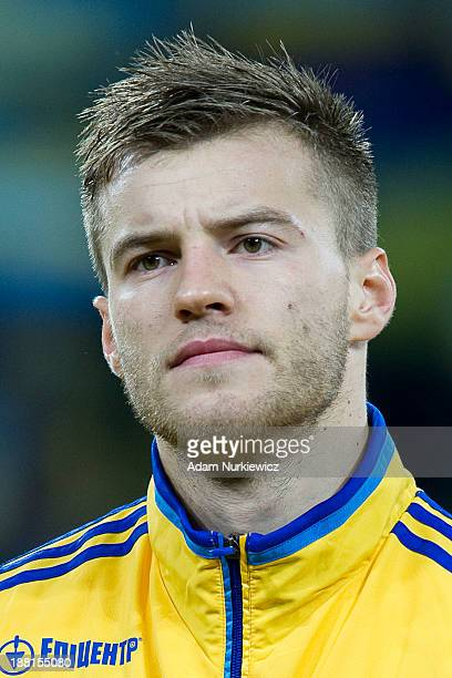 Ukraine's Andriy Yarmolenko before the FIFA 2014 World Cup Qualifier Playoff First Leg soccer match between Ukraine and France at the Olympic Stadium...
