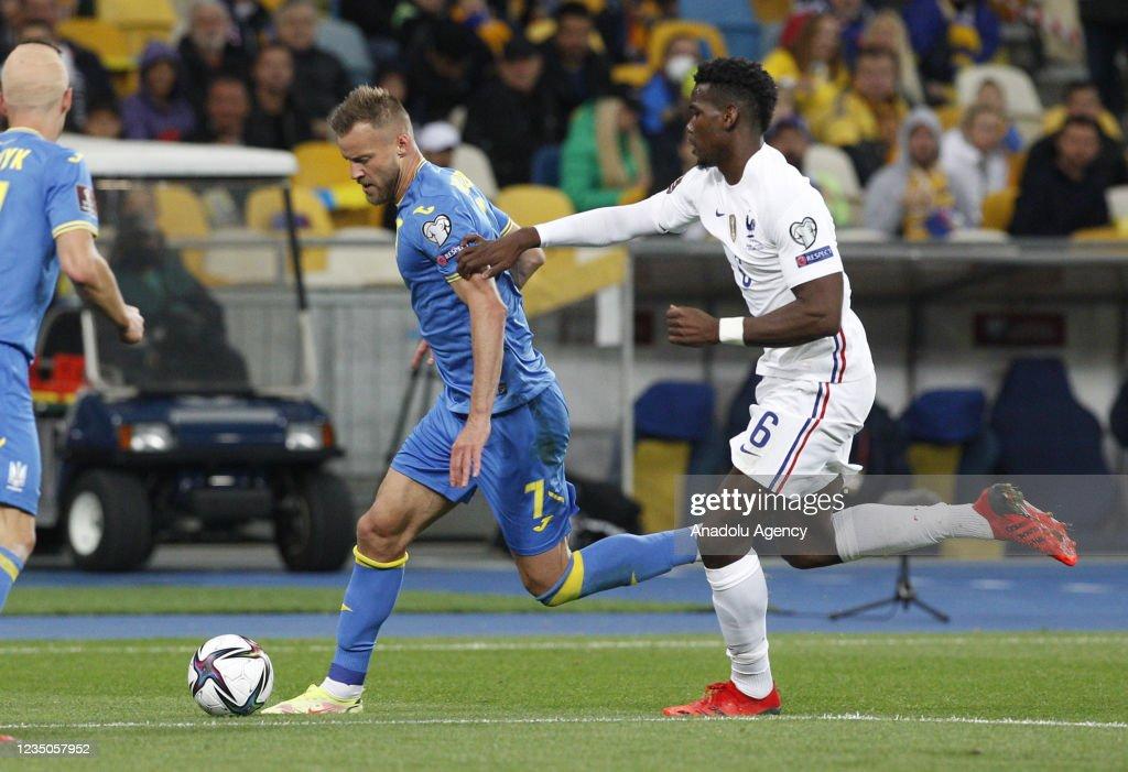 Ukraine v France - 2022 FIFA World Cup Qualification : News Photo
