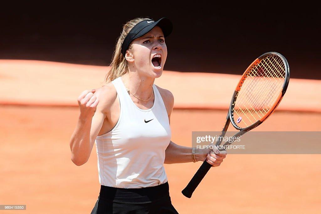 TENNIS-ITALY-WTA : News Photo