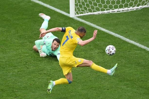 ROU: Ukraine v Austria - UEFA Euro 2020: Group C