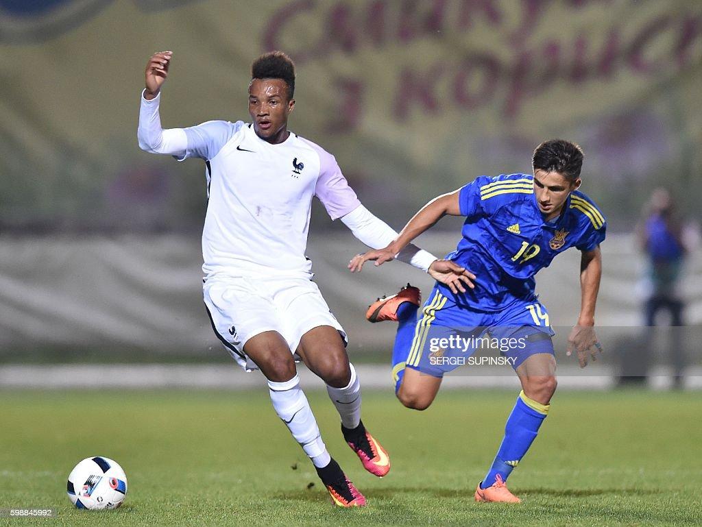 FBL-EURO-U21-UKR-FRA : News Photo