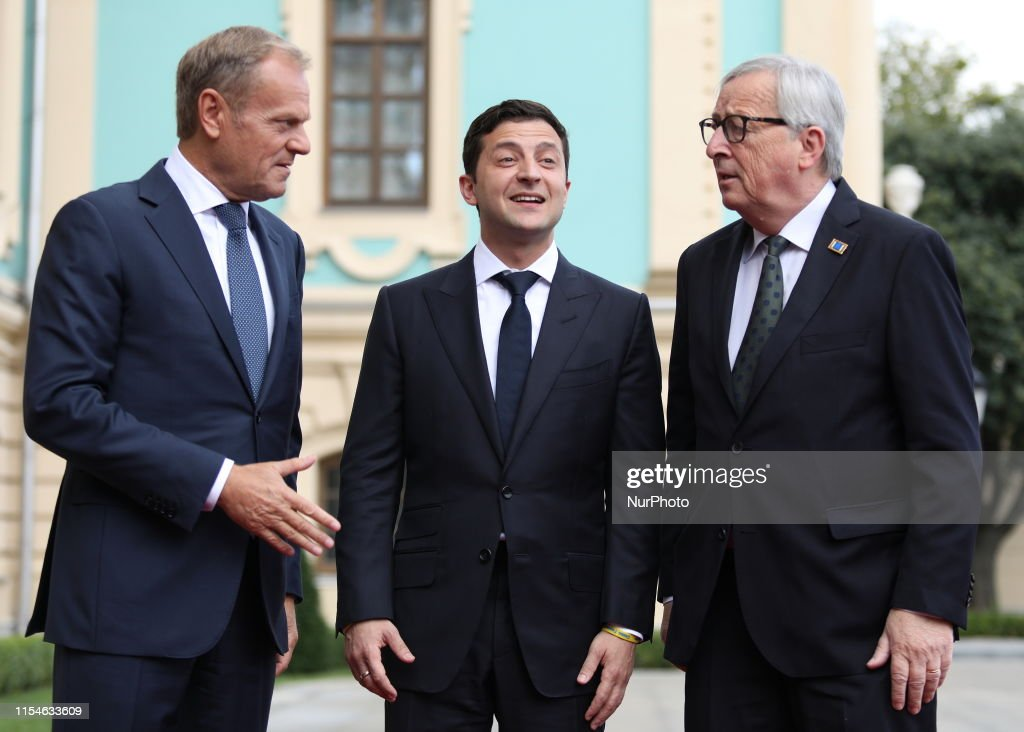 Ukraine - Europe Summit In Kiev : News Photo