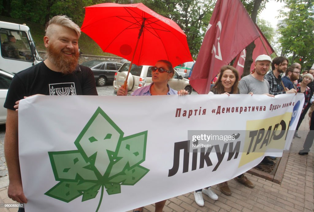 Marijuana Party In Kiev