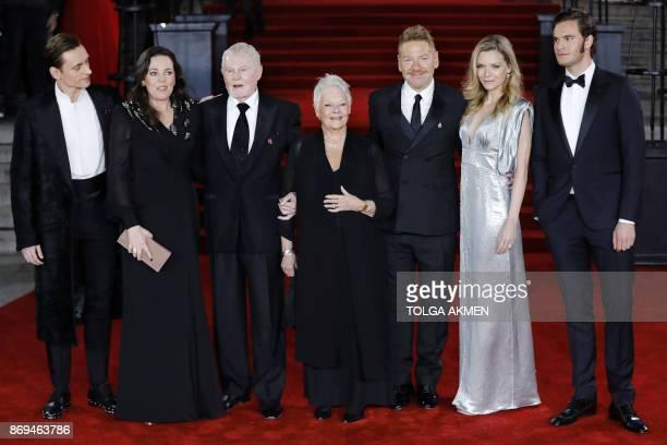 Ukrainian actor Sergei Polunin English actress Olivia Colman English actor Derek Jacobi English actress Dame Judi Dench British actor director...