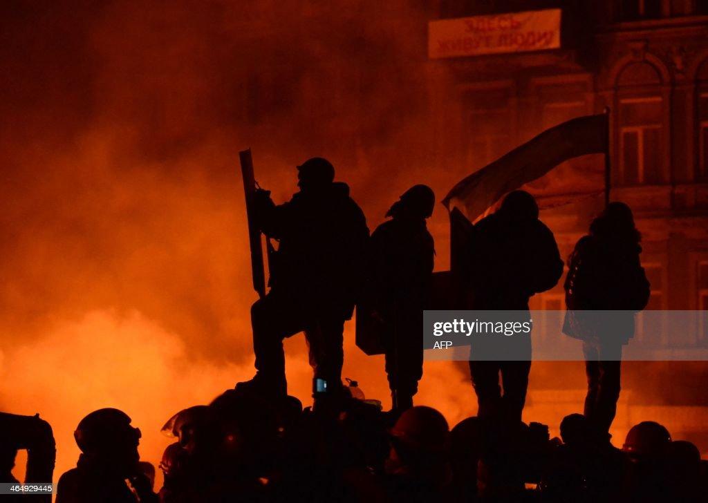 UKRAINE-EU-RUSSIA-UNREST-POLITICS : News Photo