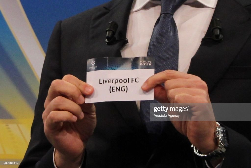 UEFA Champions League Quarter-Final draw  : News Photo