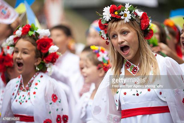 CONTENT] Ukrainian girls singing at Independence day 2013 in Kiev Ukraine Independence Day is the the biggest and most important state holiday in...