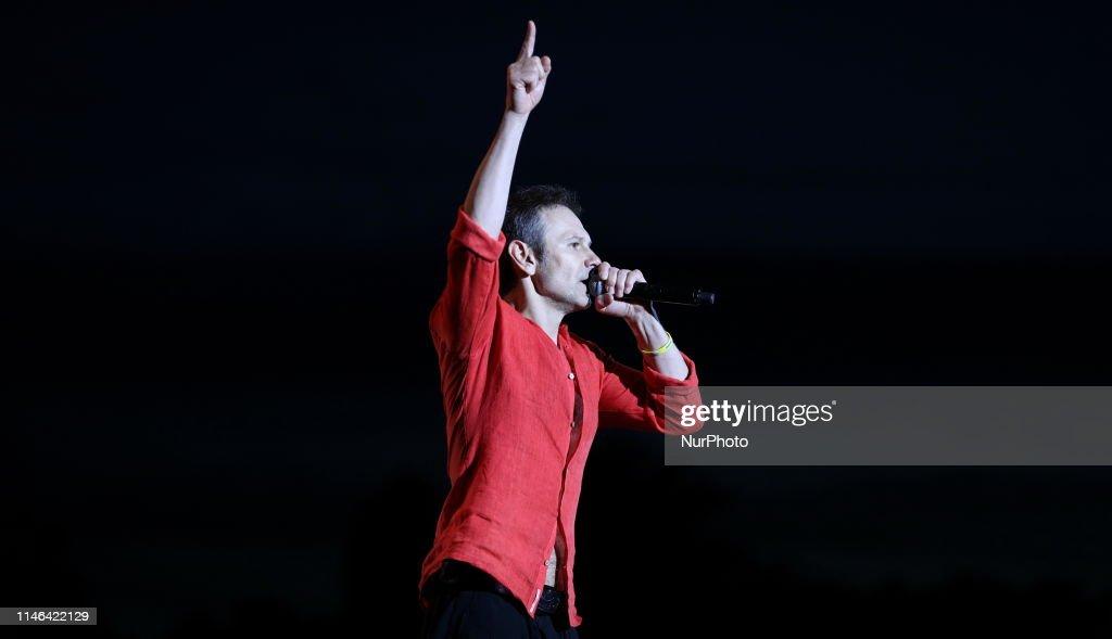 UKR: Ukrainian Musician And Frontman Of A Popular Rock Band Okean Elzy, Sviatoslav Vakarchuk