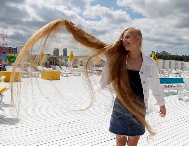 UKR: Ukraine Longest Hair
