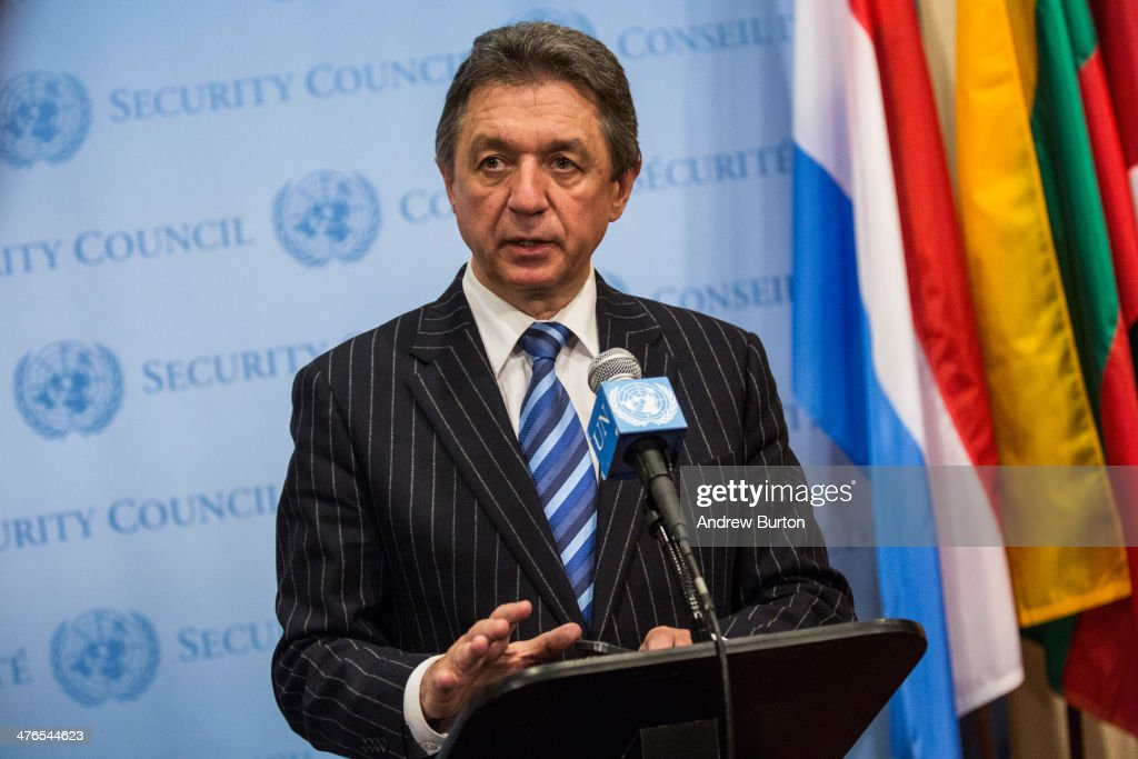 United Nations Security Council Debates The Escalating Situation With Russia And Ukraine : Nachrichtenfoto